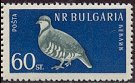 Cl: Rock Partridge (Alectoris graeca) SG 1144 (1959) 350
