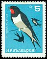 Cl: Barn Swallow (Hirundo rustica) SG 1520 (1965) 60