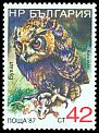 Cl: Eurasian Eagle-Owl (Bubo bubo)(Repeat for this country)  SG 3518 (1988) 160