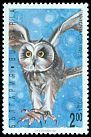 Cl: Short-eared Owl (Asio flammeus) SG 3895 (1992) 140