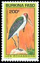 Cl: Marabou Stork (Leptoptilos crumeniferus) <<Marabout>> (Repeat for this country)  SG 1056 (1993) 200