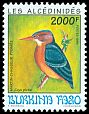 Cl: African Pygmy-Kingfisher (Ispidina picta) <<Martin-chasseur Pygmee>>  SG 1077 (1994)