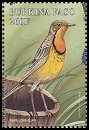 Cl: Orange-throated Longclaw (Macronyx capensis)(Out of range)  SG 1206h (1998) 125