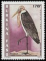 Cl: Marabou Stork (Leptoptilos crumeniferus) <<Marabout>> (Repeat for this country)  new (1998)  [3/58]