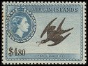 Cl: Magnificent Frigatebird (Fregata magnificens) <<Man-o'-War Bird>> (Repeat for this country)  SG 161 (1956) 4600 [3/19]