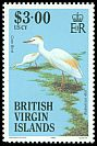 British Virgin Is <<Cow Bird>> SG 577 (1985)
