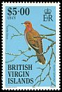 British Virgin Is <<Turtle Dove>> SG 578 (1985)