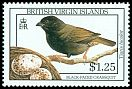 Cl: Black-faced Grassquit (Tiaris bicolor) SG 739 (1990) 275