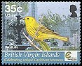 Cl: Yellow Warbler (Dendroica petechia)(Repeat for this country)  SG 1171 (2005) 70 [3/59]