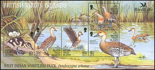 British Virgin Is SG 1115-9 (2002)