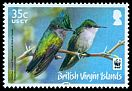 Cl: Antillean Crested Hummingbird (Orthorhyncus cristatus)(Repeat for this country)  SG 1278 (2014) 110 [9/1]