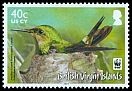 Cl: Antillean Crested Hummingbird (Orthorhyncus cristatus)(Repeat for this country)  SG 1279 (2014) 140 [9/1]
