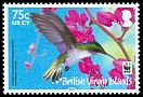 Cl: Antillean Crested Hummingbird (Orthorhyncus cristatus)(Repeat for this country)  SG 1280 (2014) 190 [9/1]