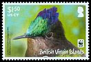 Cl: Antillean Crested Hummingbird (Orthorhyncus cristatus)(Repeat for this country)  SG 1281 (2014) 400 [9/1]