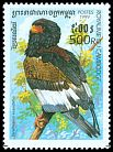 Cl: Bateleur (Terathopius ecaudatus)(Out of range)  SG 1938 (1999) 70
