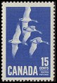 Cl: Canada Goose (Branta canadensis)(Endemic or near-endemic)  SG 539 (1963) 100