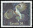 Cl: Great Horned Owl (Bubo virginianus) <<Grand duc d'Amerique>>  SG 1201 (1986) 175