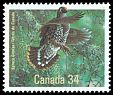 Cl: Spruce Grouse (Falcipennis canadensis) <<Tetras du Canada>>  SG 1202 (1986) 175