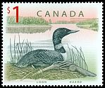 Cl: Common Loon (Gavia immer) <<huard>>  SG 1756 (1998) 100