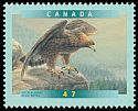 Cl: Golden Eagle (Aquila chrysaetos) <<Aigle royal>>  SG 2058 (2001) 75