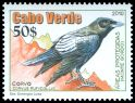 Cl: Brown-necked Raven (Corvus ruficollis) <<Corvo>>  new (2010)  [6/49]