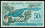 Cl: Great Blue Turaco (Corythaeola cristata) SG 12 (1960) 190