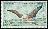 Cl: African Fish-Eagle (Haliaeetus vocifer) SG 16 (1960) 1300 [3/14]