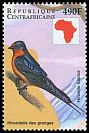 Cl: Barn Swallow (Hirundo rustica) new (1999)