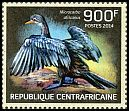 Cl: Long-tailed Cormorant (Phalacrocorax africanus)(I do not have this stamp)  new (2014)