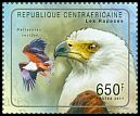 Cl: African Fish-Eagle (Haliaeetus vocifer)(Repeat for this country) (I do not have this stamp)  new (2011)  [7/47]