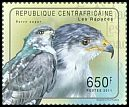 Cl: Augur Buzzard (Buteo augur)(Out of range) (I do not have this stamp)  new (2011)  [7/47]