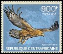 Cl: Golden Eagle (Aquila chrysaetos)(Out of range) (I do not have this stamp)  new (2014)