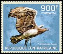 Cl: Martial Eagle (Polemaetus bellicosus)(I do not have this stamp)  new (2014)