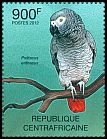 Cl: Grey Parrot (Psittacus erithacus)(Repeat for this country) (I do not have this stamp)  new (2012)  [7/58]