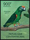 Cl: Red-fronted Parrot (Poicephalus gulielmi)(Repeat for this country) (I do not have this stamp)  new (2012)  [7/58]