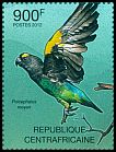 Cl: Meyer's Parrot (Poicephalus meyeri)(I do not have this stamp)  new (2012)  [7/58]
