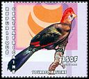 Cl: Red-crested Turaco (Tauraco erythrolophus)(Out of range)  new (2001)