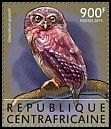 Cl: Sjostedt's Owlet (Glaucidium sjostedti)(I do not have this stamp)  new (2015)