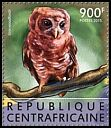 Cl: African Wood-Owl (Strix woodfordii)(I do not have this stamp)  new (2015)
