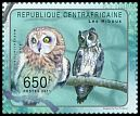 Cl: Madagascar Long-eared Owl (Asio madagascariensis)(Out of range) (I do not have this stamp)  new (2011)  [7/47]