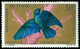 Cl: Greater Blue-eared Glossy-Starling (Lamprotornis chalybaeus) SG 163 (1967) 160 [3/12]