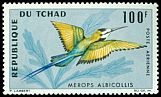 Cl: White-throated Bee-eater (Merops albicollis) SG 164 (1966) 350 [3/12]