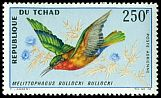 Cl: Red-throated Bee-eater (Merops bulocki) SG 166 (1967) 775 [3/12]