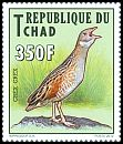 Cl: Corn Crake (Crex crex)(I do not have this stamp)  new (2012)  [8/10]