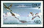Cl: Imperial Shag (Phalacrocorax atriceps) <<Cormoran Antartico>>  SG 1067 (1986) 140