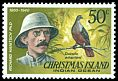 Cl: Christmas Island Imperial-Pigeon (Ducula whartoni) SG 79 (1977) 100