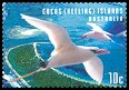 Cl: Red-tailed Tropicbird (Phaethon rubricauda)(Repeat for this country)  SG 373 (1999)