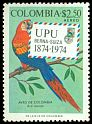 Cl: Scarlet Macaw (Ara macao)(Repeat for this country)  SG 1366 (1974) 30