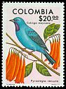 Cl: Plum-throated Cotinga (Cotinga maynana) SG 1422 (1977) 225