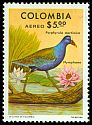 Cl: Purple Gallinule (Porphyrio martinica) SG 1424 (1977) 100